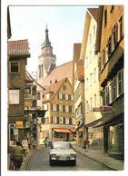 Universitätsstadt TÜBINGEN. Cpsm. - ..Neckargasse   (scans Recto-verso) - Tuebingen