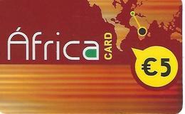 África Card Prepaid Phonecard - Portugal - Portugal