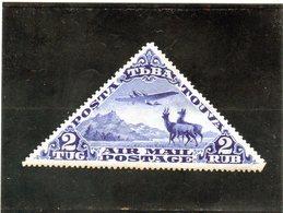 B - 1935 Touva - Posta Aerea - Tuva