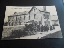 CPA De Saint Cyr Sur Loire - Maison Chatet Et Laurin - Attelage Ancien Service Des Expéditions, Carte Très Animée - Saint-Cyr-sur-Loire
