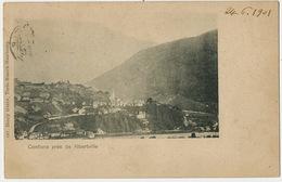 Conflans Près Albertville Vue Generale  Edit Henry Genta 662 Turin Munich Hambourg  Pionniere 1901 - Frankrijk