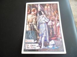 CPA De L'illustrateur Jean Droit - Jeanne D'Arc - Le Sacre Du Roy à Reims - L'Ecole Edition Paris - Droit