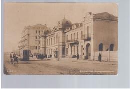 Vladivostok Bank Tram Ca 1915 OLD PHOTOPOSTCARD 2 Scans - Russie