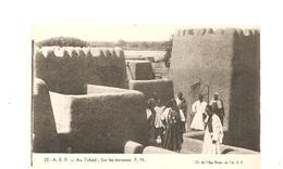 CPA AFRIQUE A.E.F. Au Tchad Sur Les Terrasses - Tchad