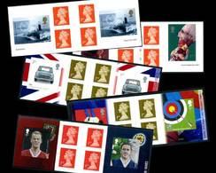 53 Carnets Mixtes De Grande-Bretagne (2001-2016) - Carnets