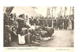 CPA AFRIQUE A.E.F. DAHOMEY Un Groupe De Féticheurs - Autres