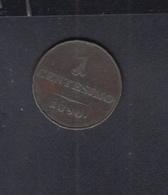 Italia Centesimo 1850 Lombardo-Veneto - Regionales Geld