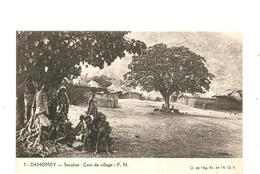 CPA AFRIQUE A.E.F. DAHOMEY Savalou Coin Du Village - Autres