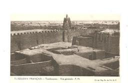 CPA AFRIQUE A.O.F. SOUDAN Français Tombouctou Vue Générale - Soudan