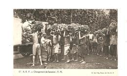 CPA AFRIQUE A.E.F. Chargement De Bananes - Autres