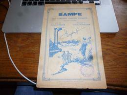 AA4-7 Sampe Extrait Opérette Wallonne Robert Carlier Joseph De Backer Montignies Sur Sambre - Musique & Instruments