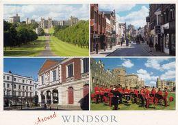 1 AK England * Windsor - Long Walk - Peascod Street - Guildhall - Guards Band At Windsor Castle * - Windsor