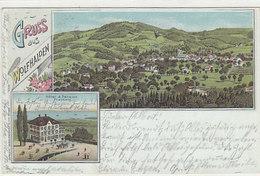 Gruss Aus Wolfhalden Mit Hotel Friedberg - Litho - 1903       (P-142-60729) - AR Appenzell Outer-Rhodes