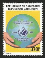 Cameroun Cameroon 1998 Declaration Of Human Rights 370f Mi 1236 Neuf Mint - Kameroen (1960-...)