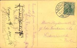 1913, BERLIN 1888 KAISER KOMMERS Auf Festpostkarte, Gelaufen. - Allemagne