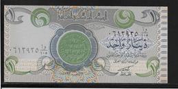 Irak - 1 Dinar - Pick N°79 - Variété Pli Accordéon - NEUF - Iraq