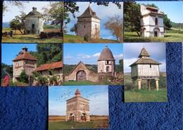 Pigeonniers De Midi Pyrénées - Lot De 7 C.P - Midi-Pyrénées