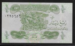 Irak - 1/4 Dinar - Pick N°77 - NEUF - Iraq