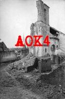 62 FICHEUX Eglise Ruine Boiry LIR 77 1916 Occupation Allemande 1916 Nordfrankreich Arras Blairville - Francia