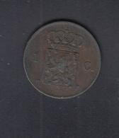 Netherlands 1 C. 1876 - 1849-1890 : Willem III