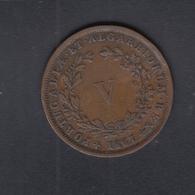 Portugal 5 Reis 1867 Faults - Portugal
