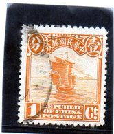 B - 1913 Cina - Giunca - 1912-1949 Republiek