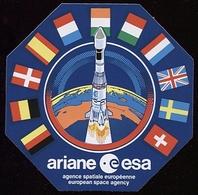 Fusée Ariane ESA / Agence Spaciale Européenne / ESA - Autocollants
