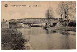 Fontaine-Valmont. Quai De La Meuse. **** - Merbes-le-Chateau