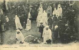48 - Mende - Procession Des Pénitents - Grande Croix - Mende