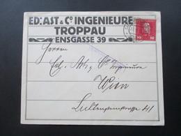 Österreich Ungarische Feldpost Nr. 27 EF Stempel Militärzensur Radom. Ed. Ast. Ingenieure Troppau - 1850-1918 Imperium