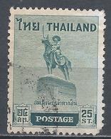 Thailand 1955. Scott #313 (U) King Taksin Statue At Thonburi * - Thaïlande