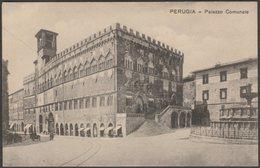 Palazzo Comunale, Perugia, Umbria, C.1910 - Mignini Cartolina - Perugia