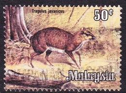 Malaysia SG 192 1979 Wildlife, 50c Lesser Malay Chevrotain, Used - Malaysia (1964-...)