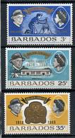 1968 - BARBADOS - Mi. Nr. 274/276 - NH - (CW4755.3) - Barbados (...-1966)