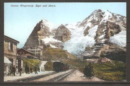 Carte P ( Suisse / Wengernalp-Station ) - BE Berne