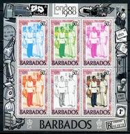 1980 - BARBADOS - Mi. Nr. 508/513 - NH - (CW4755.4) - Barbados (1966-...)