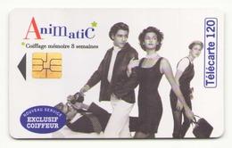 TELECARTE 120 UNITES ANIMATIC 01/96 - France