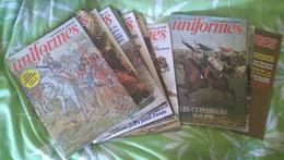 Uniformes. Les Armées De L'Histoire, Bimestriel : N° 66 à 80, Mars-avril 1982 à Mars-avril 1984. - Armi