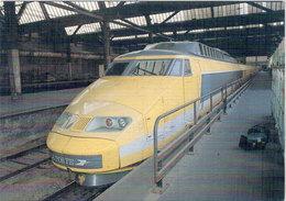 La Poste - TGV Postal N° 4- Centre De Tri PTT De La Gare De Lyon A PARIS - Tirage Limité  (106984) - Trains