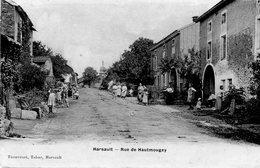 CPA - HARSAULT (88) - Aspect De L'entrée Du Village Par La Rue De Hautmougey En 1907 - Francia