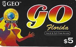 Geo GO Prepaid Phonecard - Florida (USA) - United States