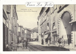 (06) VENCE LA JOLIE - L'avenue Marcellin Maurel En 1910 - Vence