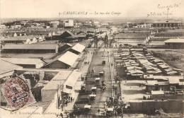 MAROC - CASABLANCA - La Rue Des Camps - Casablanca