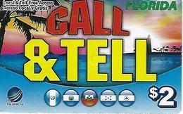 Teleprise Call & Tell Prepaid Card - Florida (USA) - United States