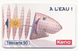 TELECARTE 50 UNITES KENO FRANCAISE DES JEUX 02/96 - France