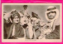 Cpa Carte Postale Ancienne  - Famille Druze Du Djebel - Libya