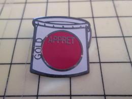 1015b Pin's Pins / Beau Et Rare : Thème MARQUES / POT DE PEINTURE GOLD APPRET - Transportation