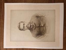 Photo Portrait Type Notable à La Moustache Asiatique Arabe Ou Autre à Identifier Avant 1900 - Photos