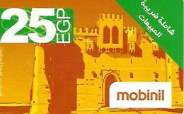 Mobinil 25WGP Prepaid Phonecard - Egypt - Egypte
