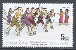 Thailand 1991. Scott #1381 (U) Children's Day, Race * - Thaïlande